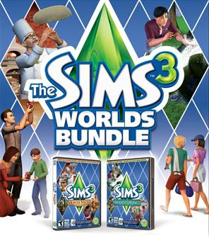 The Sims 3: Worlds Bundle (NA)