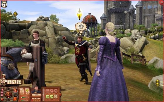 The Sims: Medieval - Pirates & Nobles (NA) on PC screenshot #5