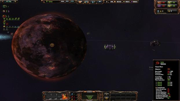 Sins of a Solar Empire: Rebellion - Forbidden Worlds on PC screenshot #5