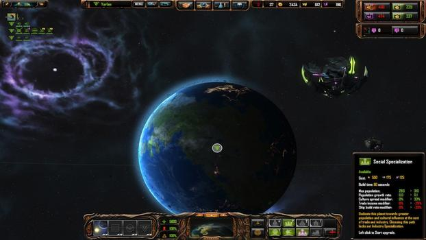 Sins of a Solar Empire: Rebellion - Forbidden Worlds on PC screenshot #3