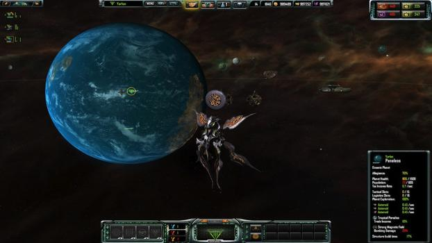 Sins of a Solar Empire: Rebellion - Forbidden Worlds on PC screenshot #2