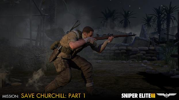 Sniper Elite III – Save Churchill Part 1: In Shadows on PC screenshot #7