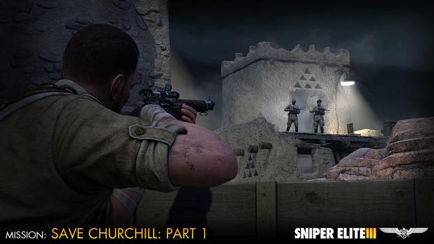 Sniper Elite III – Save Churchill Part 1: In Shadows on PC screenshot #6