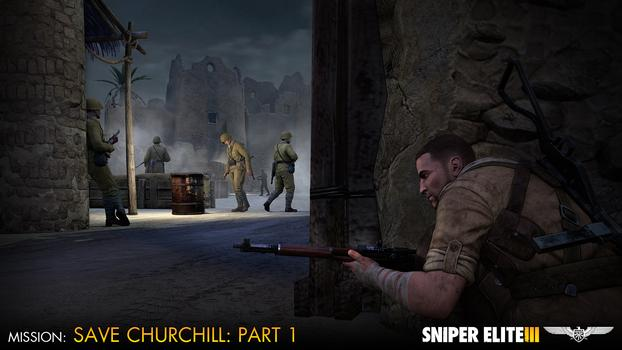 Sniper Elite III – Save Churchill Part 1: In Shadows on PC screenshot #5