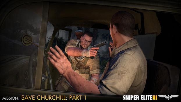 Sniper Elite III – Save Churchill Part 1: In Shadows on PC screenshot #4