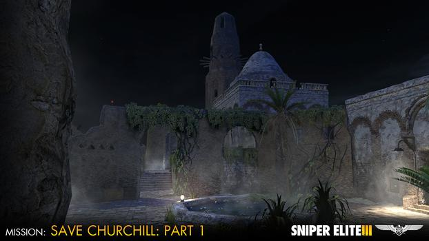 Sniper Elite III – Save Churchill Part 1: In Shadows on PC screenshot #3