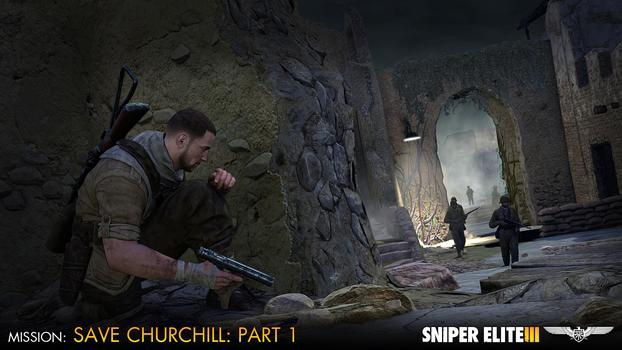 Sniper Elite III – Save Churchill Part 1: In Shadows on PC screenshot #1
