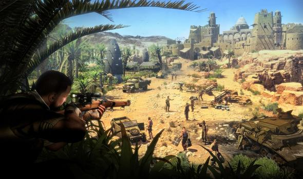 Sniper Elite III on PC screenshot #5