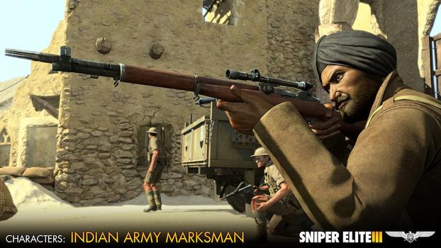 Sniper Elite III - Allied Reinforcements Outfit Pack on PC screenshot #3