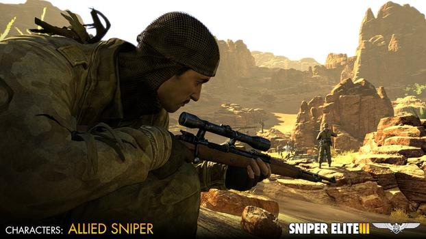 Sniper Elite III - Allied Reinforcements Outfit Pack on PC screenshot #2