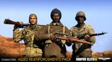 Sniper Elite III - Allied Reinforcements Outfit Pack on PC screenshot thumbnail #1