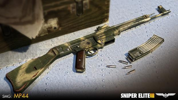 Sniper Elite III - Camouflage Weapons Pack on PC screenshot #4