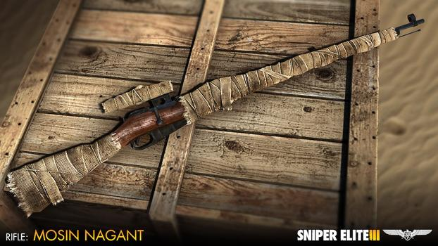 Sniper Elite III - Camouflage Weapons Pack on PC screenshot #3