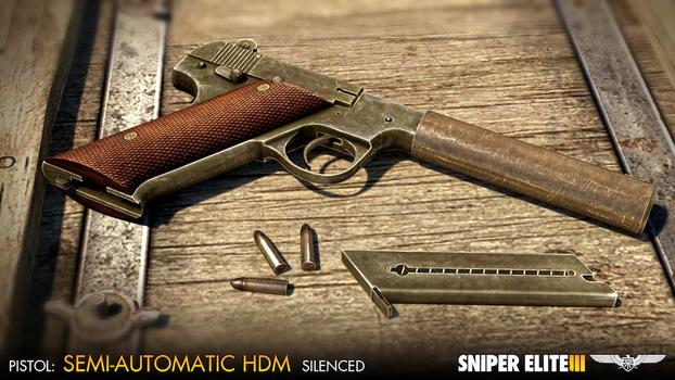 Sniper Elite III - Camouflage Weapons Pack on PC screenshot #2