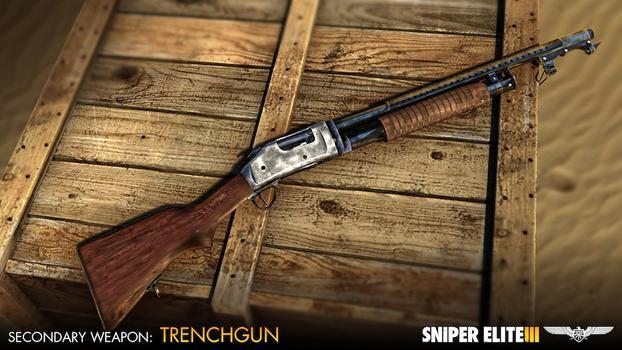 Sniper Elite III - Hunter Weapons Pack on PC screenshot #4