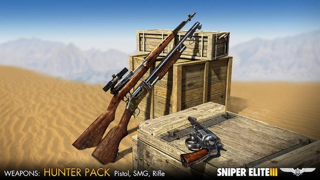Sniper Elite III - Hunter Weapons Pack on PC screenshot #1