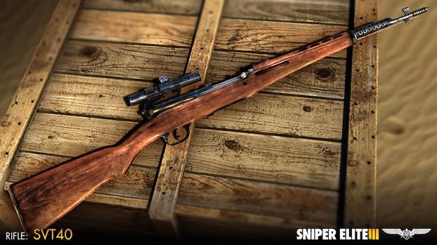 Sniper Elite III - Hunter Weapons Pack on PC screenshot #3