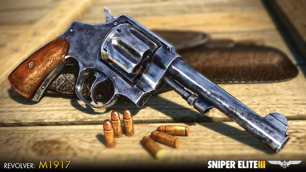 Sniper Elite III - Hunter Weapons Pack on PC screenshot #2
