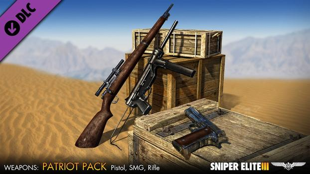 Sniper Elite III – Patriot Weapons Pack on PC screenshot #3