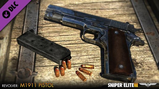 Sniper Elite III – Patriot Weapons Pack on PC screenshot #2