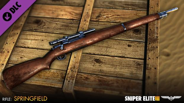Sniper Elite III – Patriot Weapons Pack on PC screenshot #1