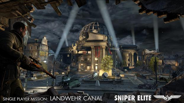 Sniper Elite V2 – The Landwehr Canal DLC Pack on PC screenshot #1