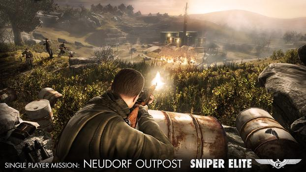 Sniper Elite V2 – The Neudorf Outpost DLC Pack on PC screenshot #1