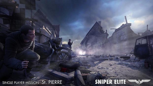 Sniper Elite v2 – The St Pierre DLC Pack on PC screenshot #1