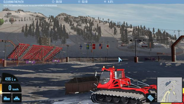Snowcat Simulator 2011 on PC screenshot #7