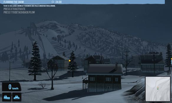 Snowcat Simulator 2011 on PC screenshot #4