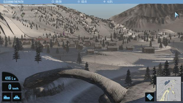 Snowcat Simulator 2011 on PC screenshot #3