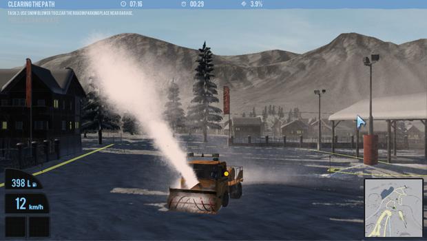 Snowcat Simulator 2011 on PC screenshot #2