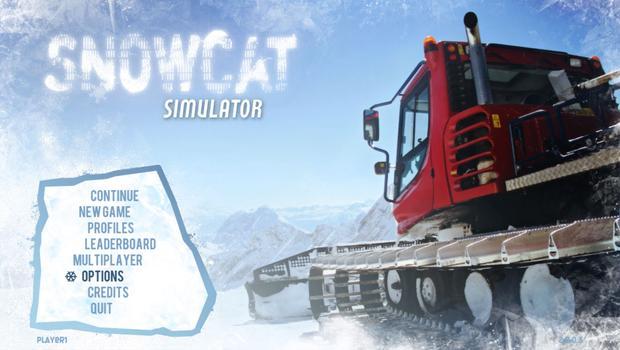 Snowcat Simulator 2011 on PC screenshot #1