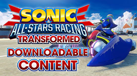 Sonic and AllStars Racing Transformed Metal Sonic Pack