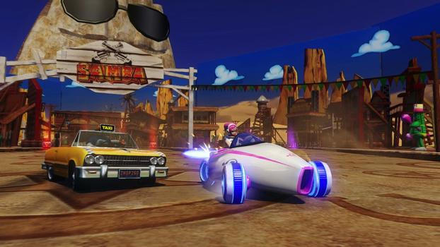 Sonic and All-Stars Racing Transformed on PC screenshot #4