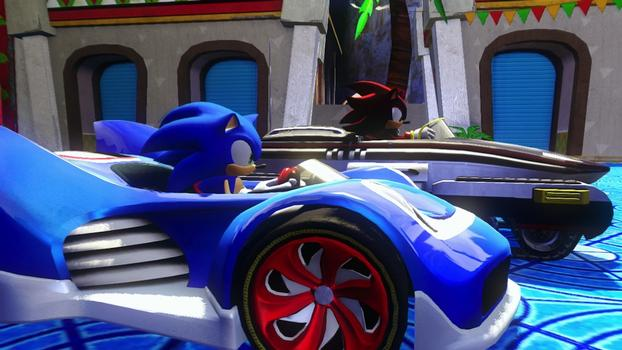 Sonic and All-Stars Racing Transformed on PC screenshot #1