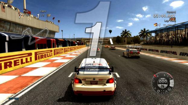 SSV8 Superstar V8 Racing on PC screenshot #1