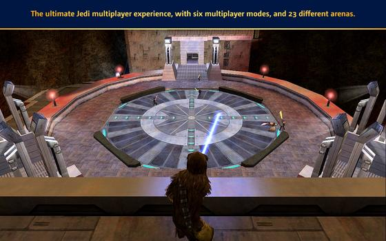 Star Wars Jedi Knight: Jedi Academy (MAC) on PC screenshot #3