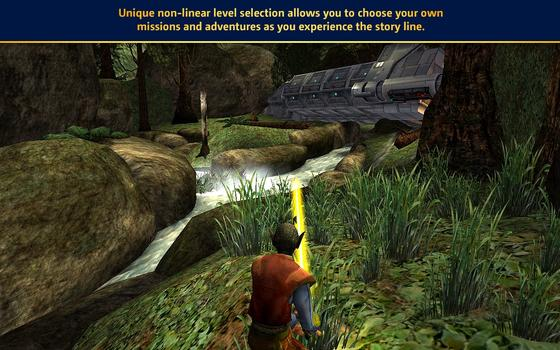 Star Wars Jedi Knight: Jedi Academy (MAC) on PC screenshot #2