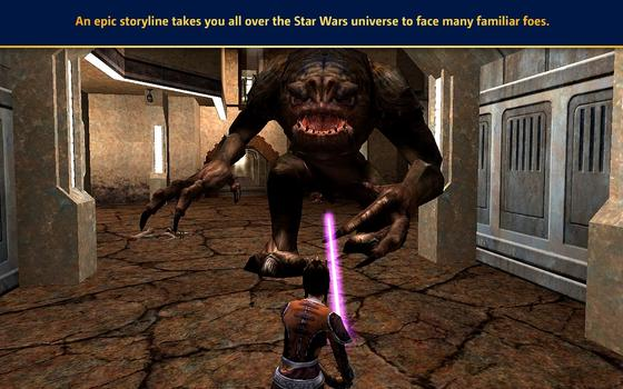 Star Wars Jedi Knight: Jedi Academy (MAC) on PC screenshot #1