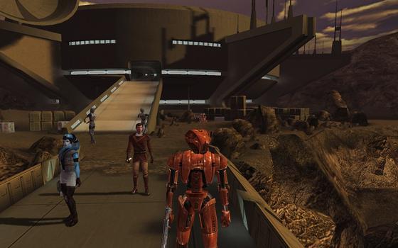 Star Wars: Knights of the Old Republic (MAC) on PC screenshot #1