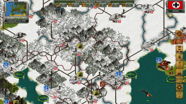 Strategic War in Europe on PC screenshot #2
