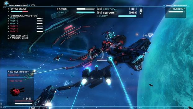 Strike Suit Zero: Heroes of the Fleet on PC screenshot #5