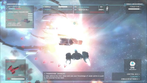 Strike Suit Zero: Heroes of the Fleet on PC screenshot #4