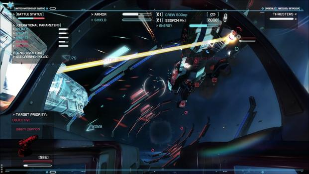 Strike Suit Zero: Heroes of the Fleet on PC screenshot #3