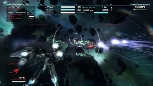 Strike Suit Zero: Heroes of the Fleet on PC screenshot #1