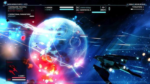 Strike Suit Zero on PC screenshot #2
