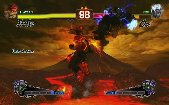 Super Street Fighter 4: Arcade Edition on PC screenshot #4