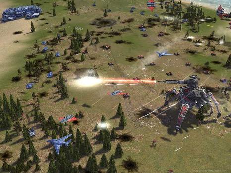 Supreme Commander: Forged Alliance on PC screenshot #2