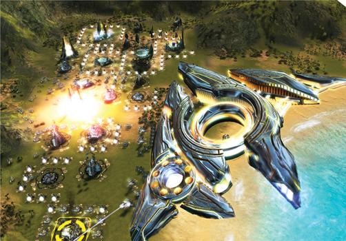Supreme Commander: Gold Edition on PC screenshot #1